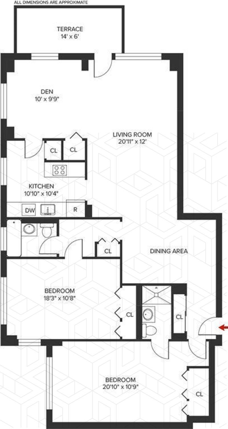 Streeteasy 1020 Grand Concourse In Concourse 14j Sales Rentals Floorplans Streeteasy