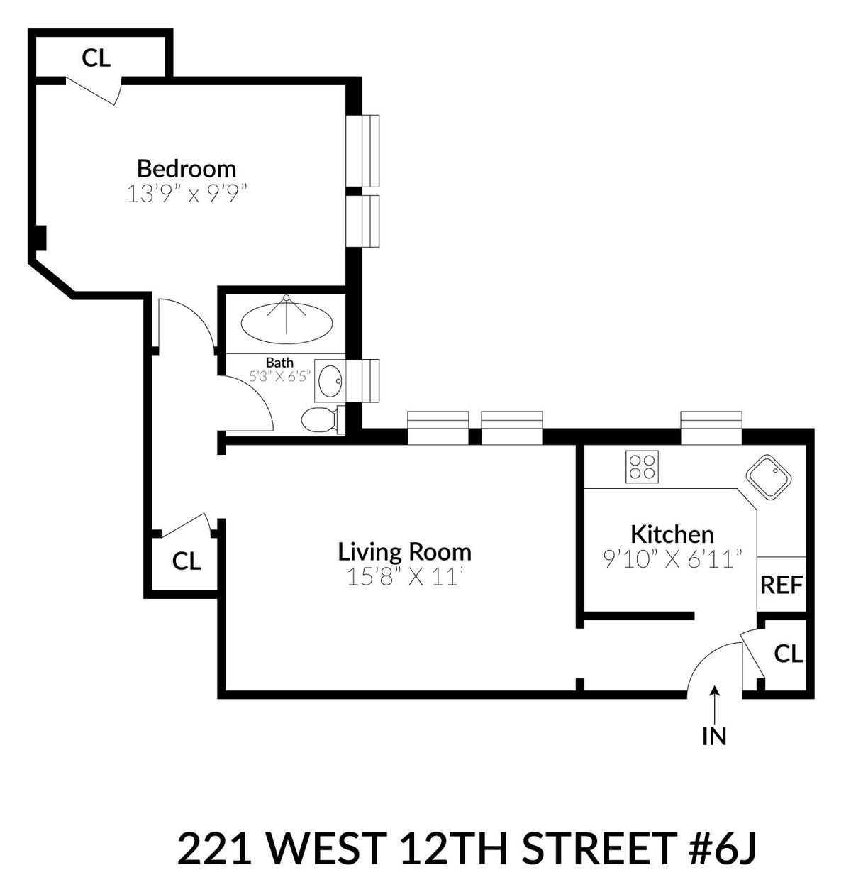 Streeteasy 221 West 12th Street In West Village 6j