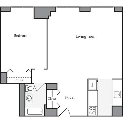 West 54th Apartments: StreetEasy: West 54th At 505 West 54th Street In Hell's
