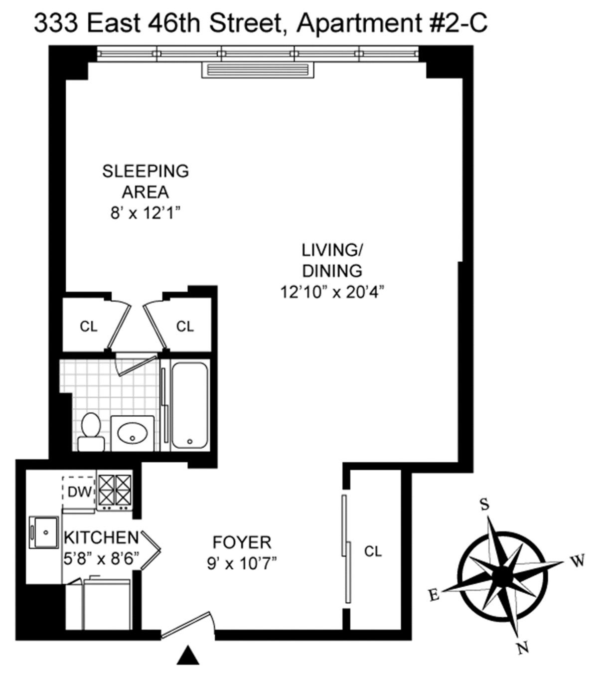 Streeteasy 333 east 46th street in turtle bay 2c for 1 dag hammarskjold plaza 7th floor new york ny 10017