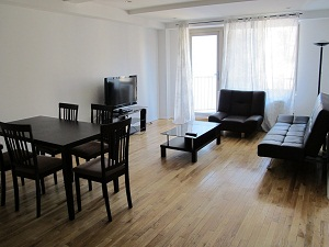 Huge to bedroom two bath no fee apartment with huge Terrace