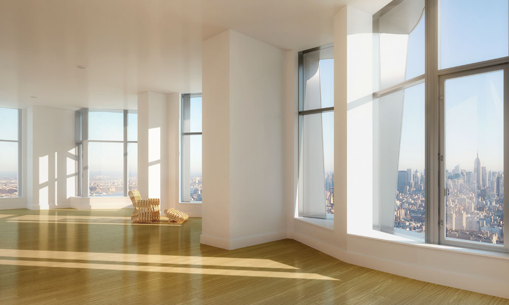 Penthouse North at New York by Gehry