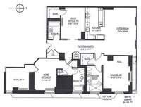 floorplan for 130 West 30th Street #11B
