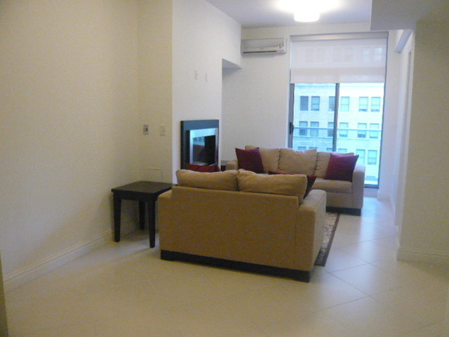 Brand New Condo, balcony, fireplace, W/D