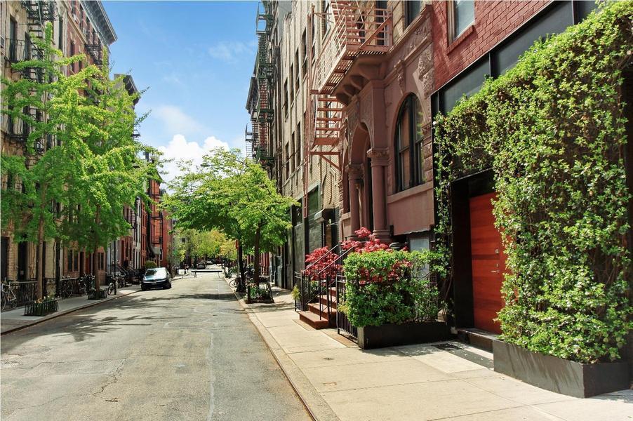 14 leroy st 1 rental unit apartment rental in west for Manhattan west village apartments