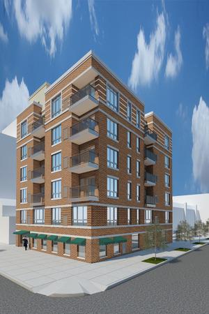 Milan Condominium Astoria at 30-25 21st Street in Astoria