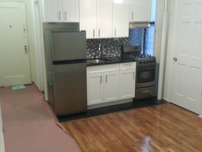 Gut renovated studio on West 129th & Adam Clayton Blvd - Only $1000 fee