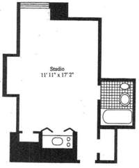 floorplan for East 40s