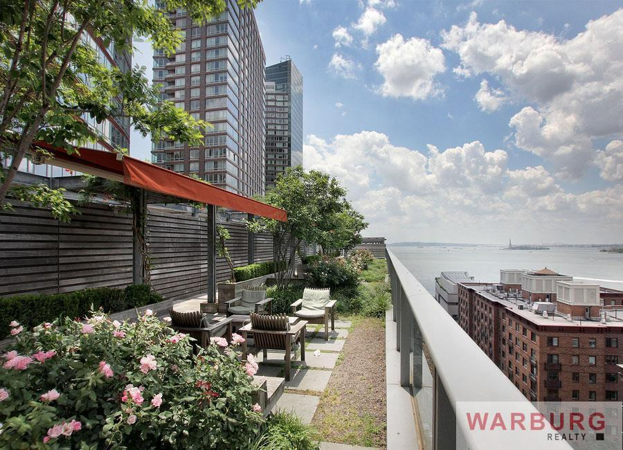 2 river terrace 4r condo apartment sale at riverhouse for 60 park terrace west