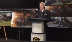 Ontario Provincial Police Commissioner Vince Hawkes