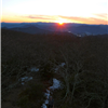 Rabun Bald at sunset!
