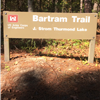 Most of the course will be run on the Bartram Trail