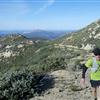 Climbing to Cuyamaca Peak
