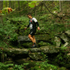 Crossing the stone bridge - 20 mile course
