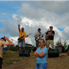Band at checkpt 1 on Ester Dome