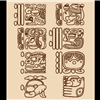 Black Friday Mayan Date Glyphs