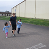 Volunteer Running with Kids