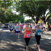 Runners in action