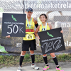 Couple 50k at Finish Photobooth
