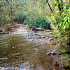 Several creek crossings