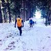 Ski Hill Climb