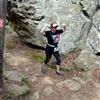 Girl at Bear Cave