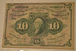 10 Cent Fractional Note Series July 1862  Green