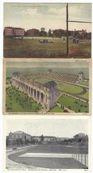 5 - 1900'S COLLEGE STADIUM POSTCARDS