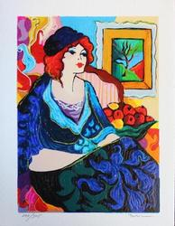 BEAUTIFUL HAND SIGNED PATRICIA SERIGRAPH