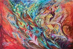 Highly Collectible Elena Kotliarker Original Acrylic