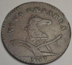Excellent Condition New Jersey Colonial Cent 1787