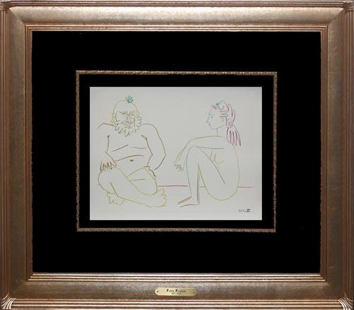 VINTAGE PICASSO LITHOGRAPH,