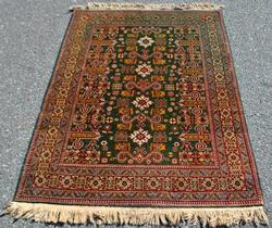 Beautiful Traditional Design Semi Antique Persian Tabriz