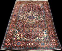 Extremely Collectible Semi Antique Persian Malayer 4.6x6.9