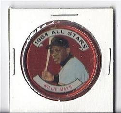 1964 TOPPS COIN WILLIE MAYS ALL-STAR