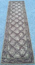 Very Unique & Unusual Textured Tibet-Gabbeh Runner