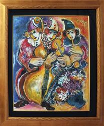 Extremely Rare, Original Painting By Z. Steynovitz
