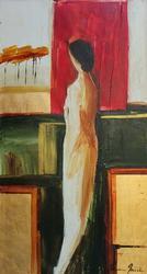 Contemporary Master Adriana Naveh Original Acrylic