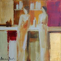 Adriana Naveh Evening Out Acrylic