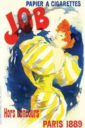Papier Cigarettes Job, Jules Cheret Giclee