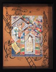 Rafael Abecassis 'Blessing Of The House' Signed