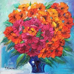 Outstanding Yanah Korobov Original Full Texture Acrylic