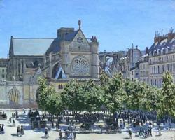 Claude Monet 'Saint-germain-auxerrois' Giclee
