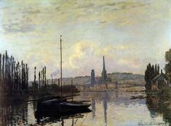 Collectible Claude Monet 'View Of Rouen' Giclee