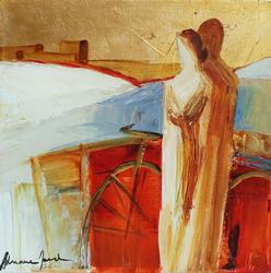 Adriana Naveh Stunning Acrylic Painting