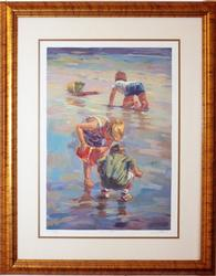 Lucelle Raad Hand Signed Serigraph
