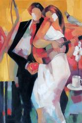 Color Giclee On Canvas By Gholam Yunessi