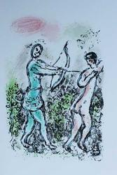 Extremely Rate Marc Chagall Ulysses Bow Lithograph