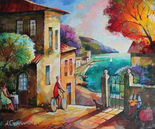 Original Oil By Alexander Grinshpun