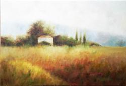 FANTASTIC LANDSCAPE OIL PAINTING ON CANVAS